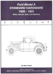 "Ford Model ""A"" Standard Hardware Book 1928-1931"