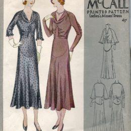 McCall 6773    Misses' Dress       Size 14