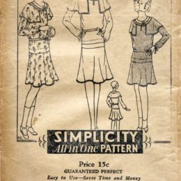 Simplicity  431     Girls' Dress     Size 12