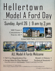 Hellertown Model A Ford Day @ Grist Mill Park | Hellertown | Pennsylvania | United States