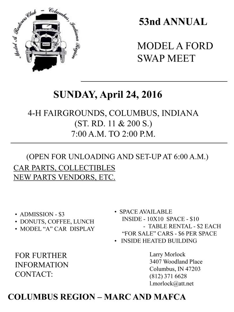 Events – Model A Restorers Club