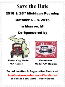 2016 Michigan Roundup is Celebrating 25 years @ Quality Inn & Suites | Monroe | Michigan | United States