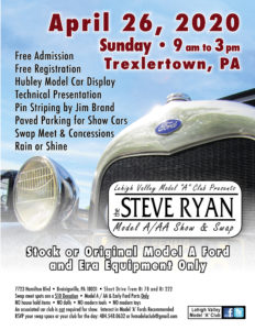 The Steve Ryan Model A/AA Show and Swap Meet @ Breinigsville | Pennsylvania | United States