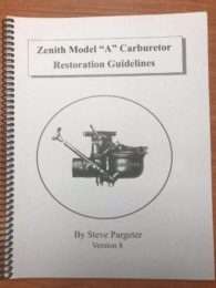 Zenith Model A Carburetor Restoration Guidelines