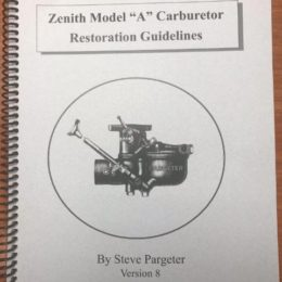 Zenith Model A Carburetor Restoration Guidelines
