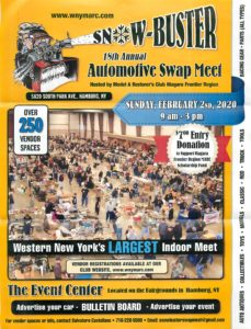 Snow-Buster 18th Annual Automotive Swap Meet @ The Event Center | Hamburg | New York | United States