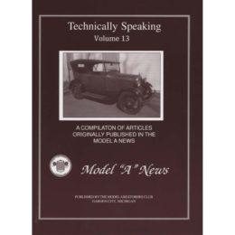 Technically Speaking Volume #13