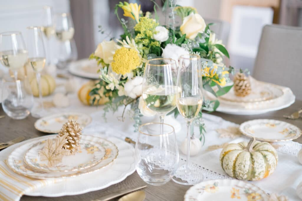 Setting A Pinterest-Worthy Thanksgiving Table At Home
