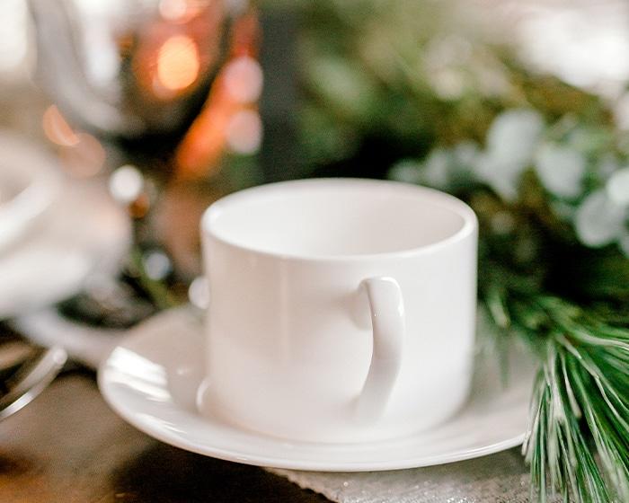 Carmine Coffee Cup