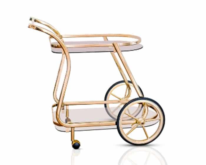Ella Bar Cart Lovely Luxe Rentals