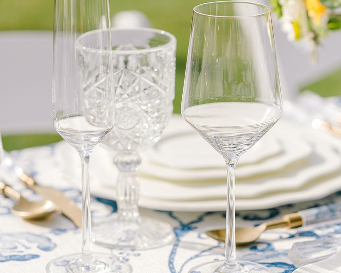 Fulton Glassware Lovely Luxe Rentals