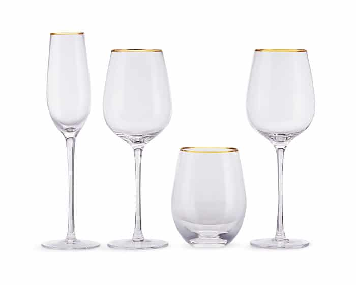 Glassware by Lovely Luxe Rentals