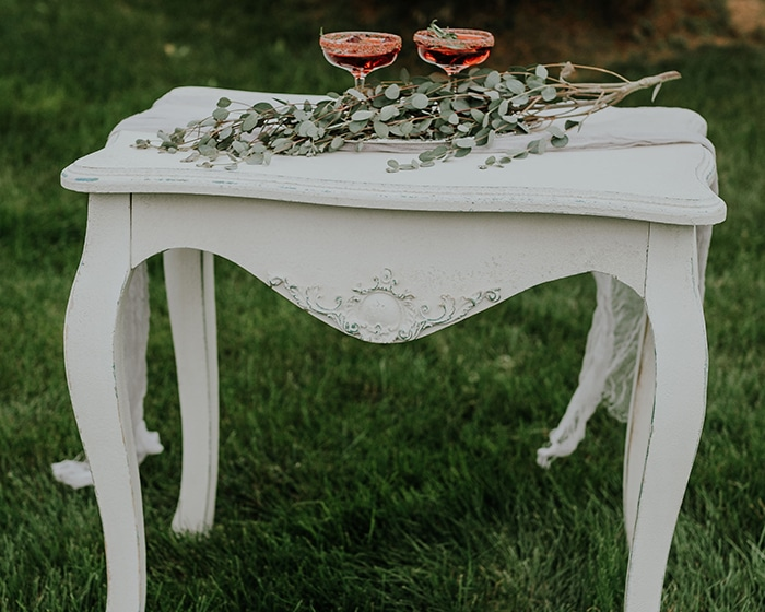 Gracie Table Lovely Luxe Rentals