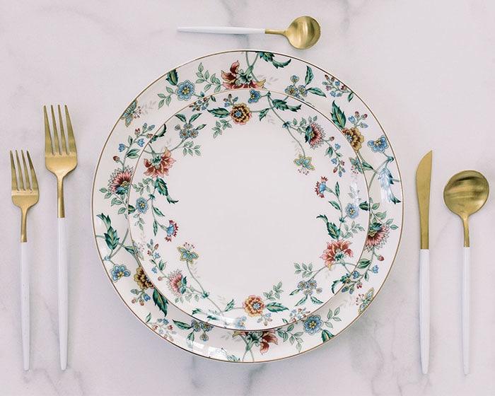 Monroe Dinnerware lovely luxe rentals