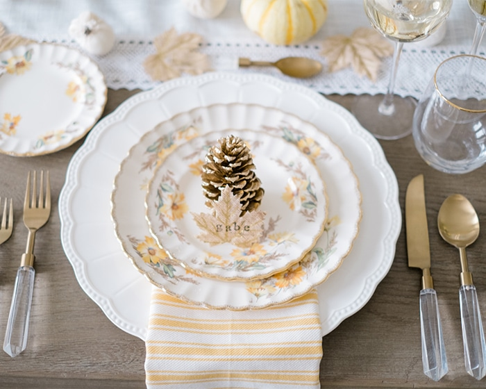 Vintage Mismatched China lovely luxe rentals