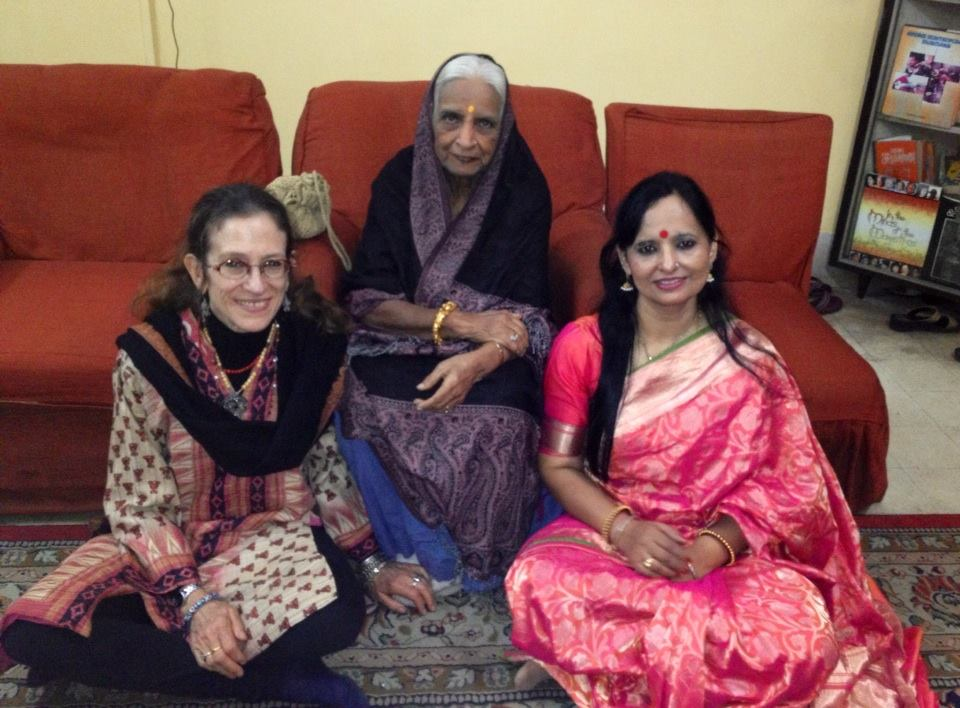With The Late Padmavibhushan Dr. Girija Devi