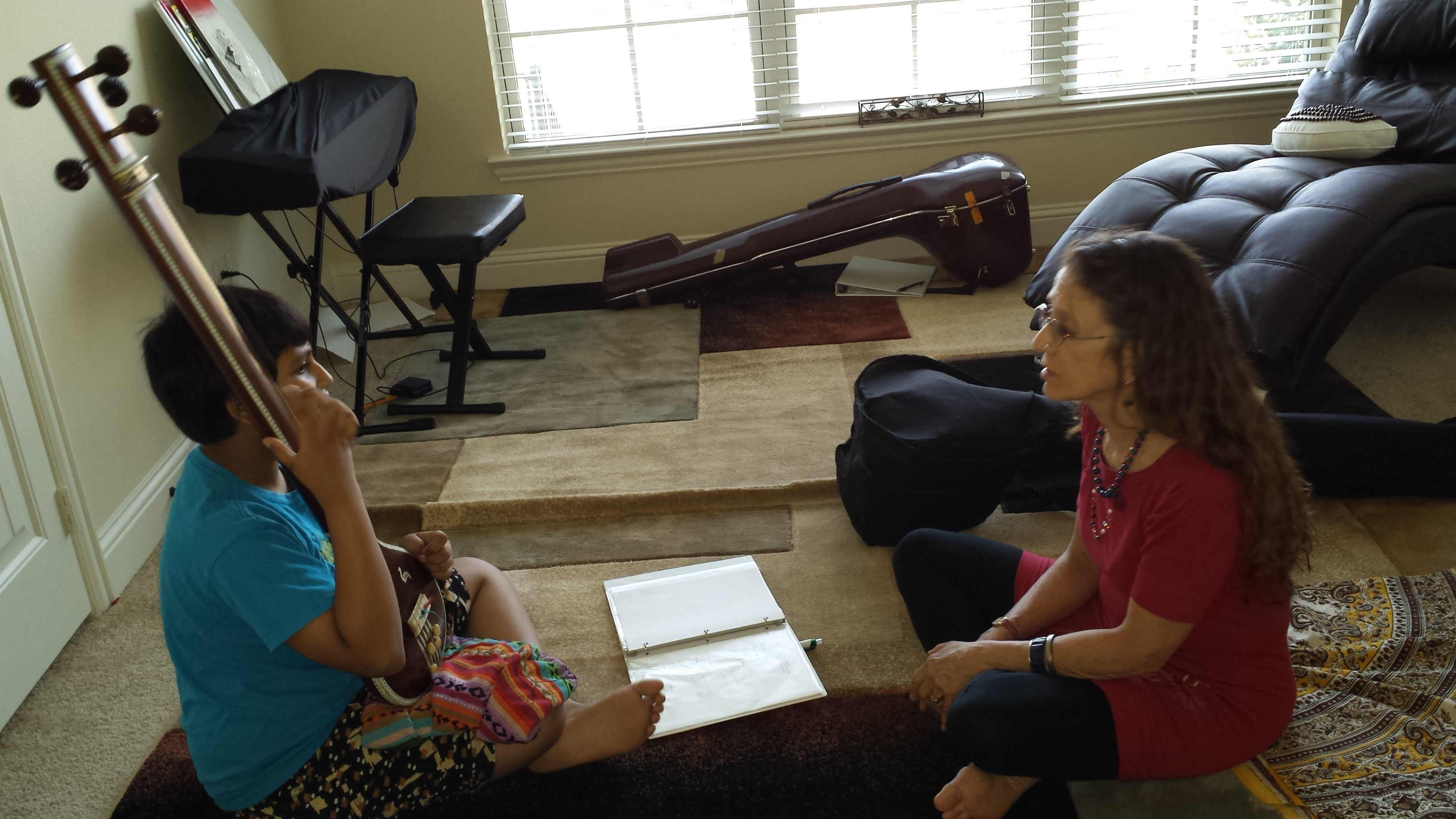 Teaching a Private Vocal Lesson