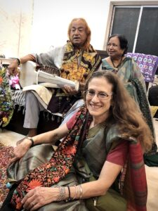 Ustad Aashish Khan's 80th birthday celebration, Dec. 5, 2019, Kolkata, with Smt. Sudha Dutta