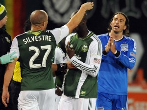Portland Timbers defender Mikael Silvestre is one of many high profile athletes represented by Gordon Reid. Photo Credit: Steve Dykes-USA TODAY Sports