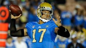 UCLA QB Brett Hundley via USA Today Sports