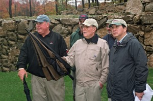 (Left to Right): Perry Dye, Pete Dye, Ken Wang