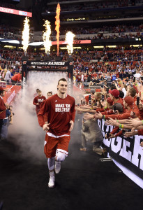 Sam Dekker before the National Championship (Credit: Bob Donnan/USA TODAY Sports)