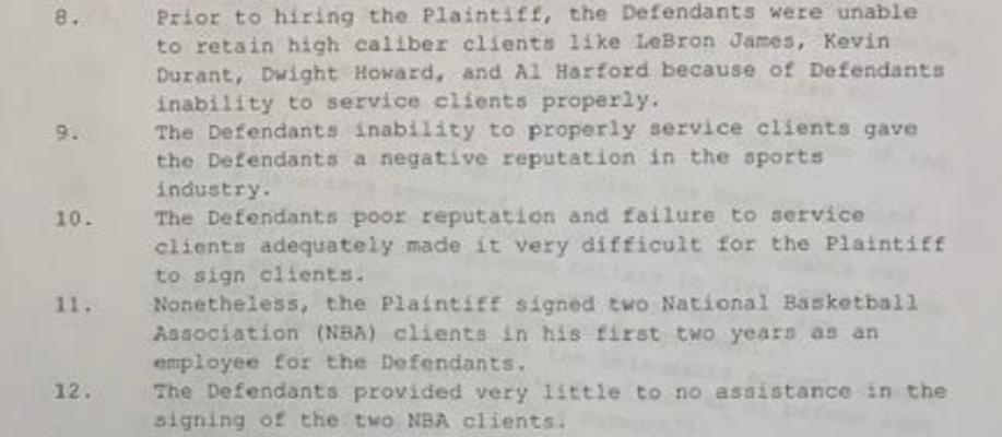 Goodwin Sports lawsuit