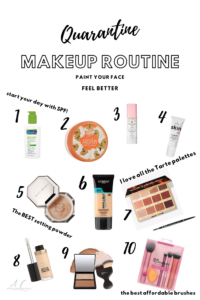 Make up routine
