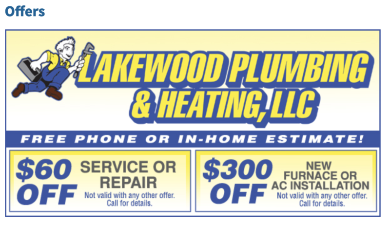10 year Team Dave Logan Trusted Company - Lakewood Plumbing & Heating