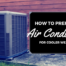 Prep your AC for Fall