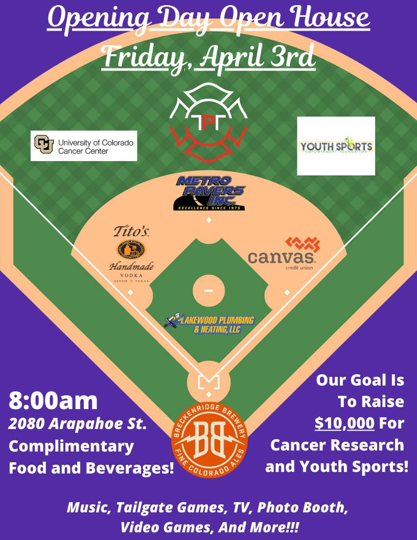Lakewood Plumbing and Heating is Sponsoring The Big Show to help raise $10,000 for Youth Sports Empowerment Foundation and CU Cancer Center