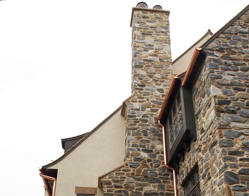 Stoney masonry - Chimney Construction ~ Lake Forest