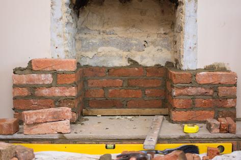 Stone & Brick Chimney Repair Lake Forest