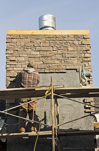 Brick Chimney Restoration River Forest