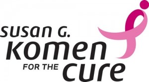 Susan G Komen Race for the Cure Logo
