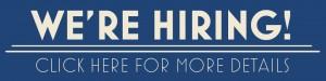 We Are Hiring - Job Opportunities