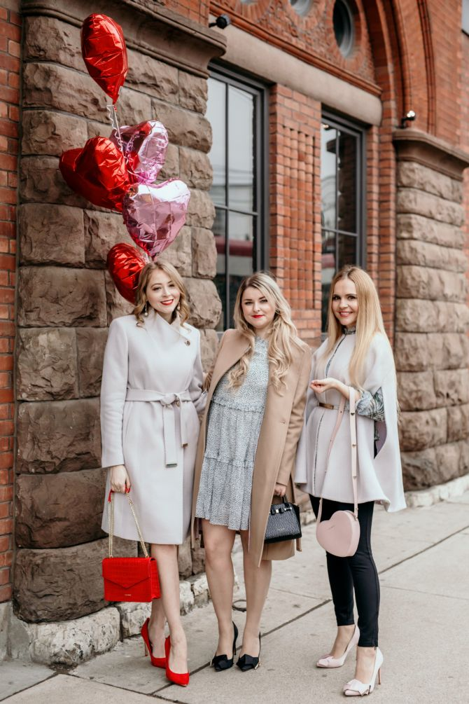 GALENTINES DAY OUTFIT IDEAS IN PARTNERSHIP WITH TED BAKER