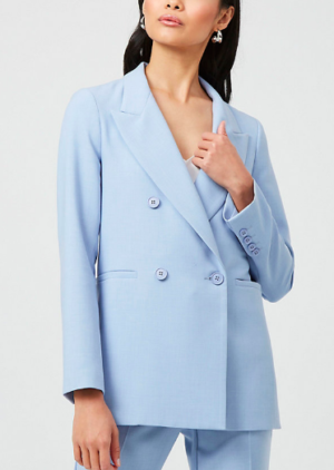 Le Chateau light blue blazer