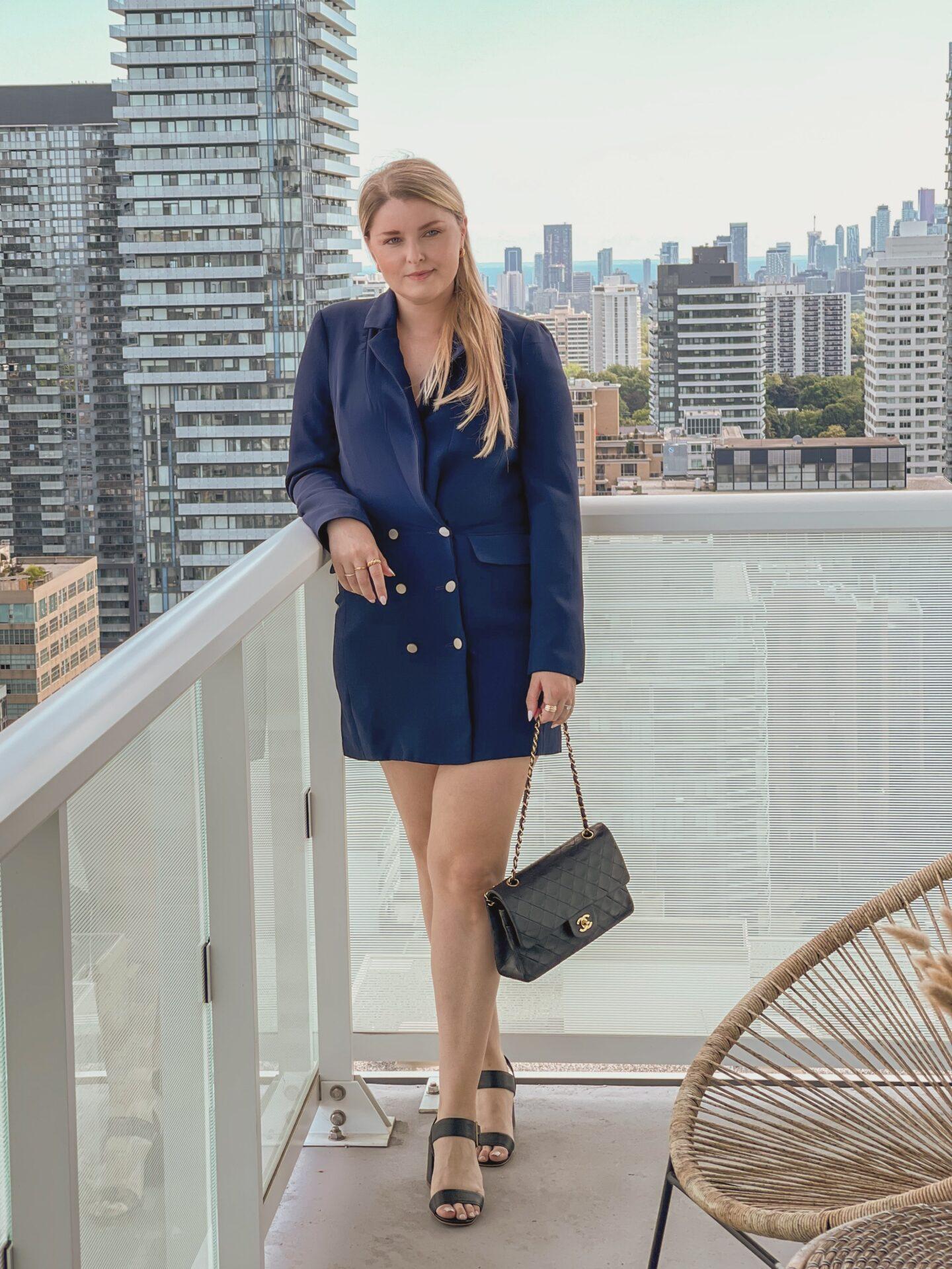 Superdown blazer dress
