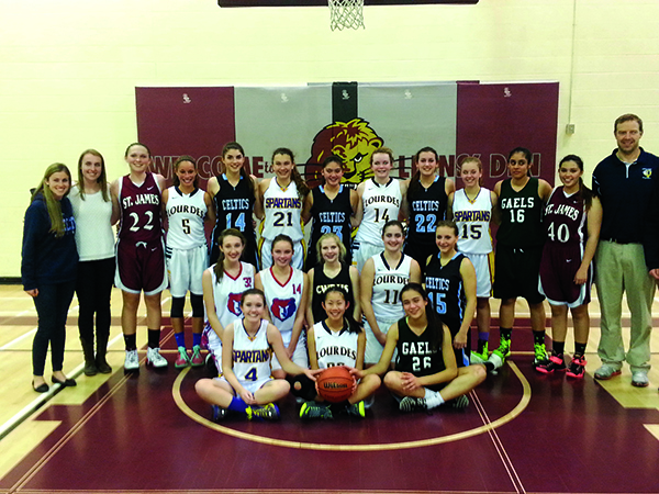Girls allStar basketball