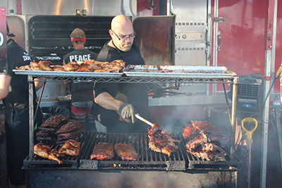 The 8th Annual Orangeville Rotary Ribfest took over Alder Street this past weekend. The event recorded mpre than 20,000 visitors over the course of the three days.