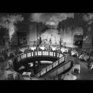 Barbara Kline: Union Station #2 black & white