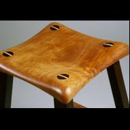 Tom Saydah: detail of bar stool