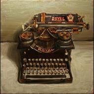Bradford Salamon: Royal Typewriter