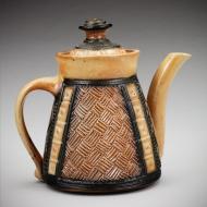 Ginger Steele: Wicker Teapot
