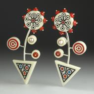 Victoria Varga: Carnival Earrings