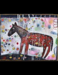 Jill Mayberg: Red Horse