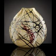 Bryce Dimitruk: Cherry Blossom Flat Vase