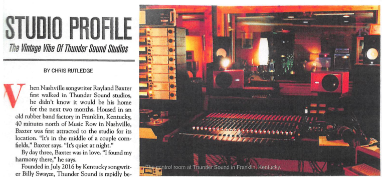 Studio Profile: Songwriter U