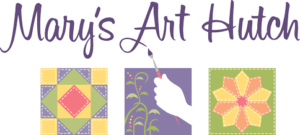 Mary's Art Hutch Logo